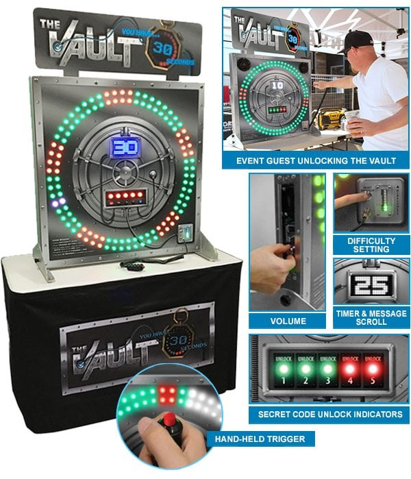 The Vault Arcade Game